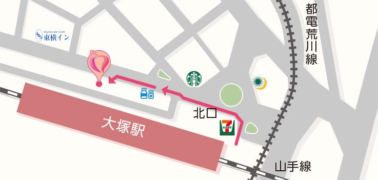 東京都豊島区北大塚2-2-5 晴和ビル3F